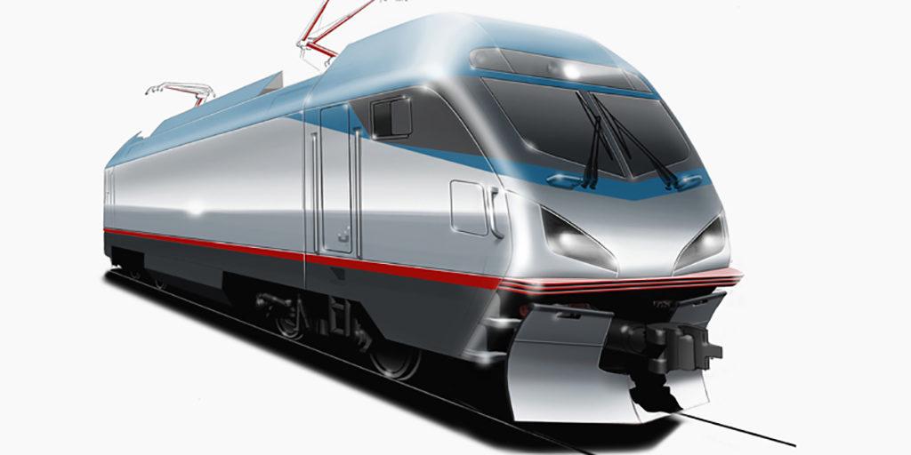 AMTRAK | ACS-64 | Lokomotive | Designzeichnung | 2011