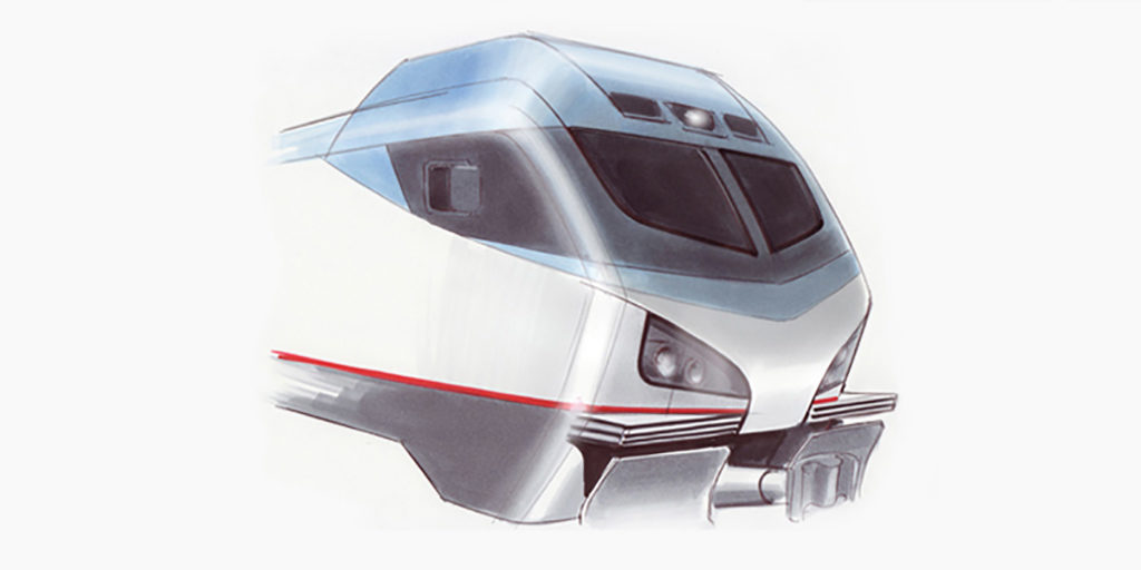 AMTRAK | ACS-64 | Lokomotive | Skizze | 2010