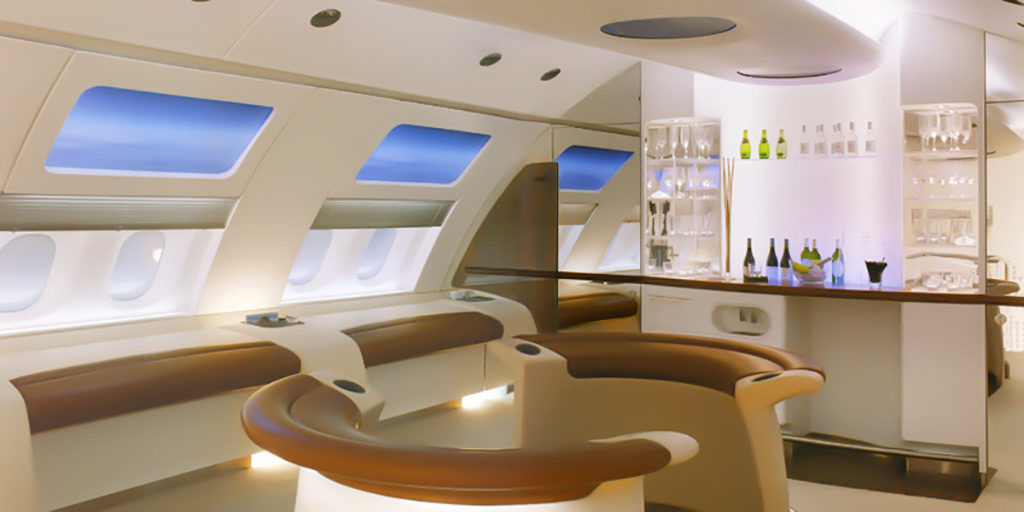 AIRBUS A380 | Rear Section Lounge | 1999