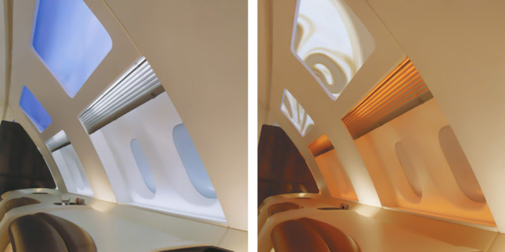 AIRBUS A380 | Rear Section Lounge | upper deck | 1999