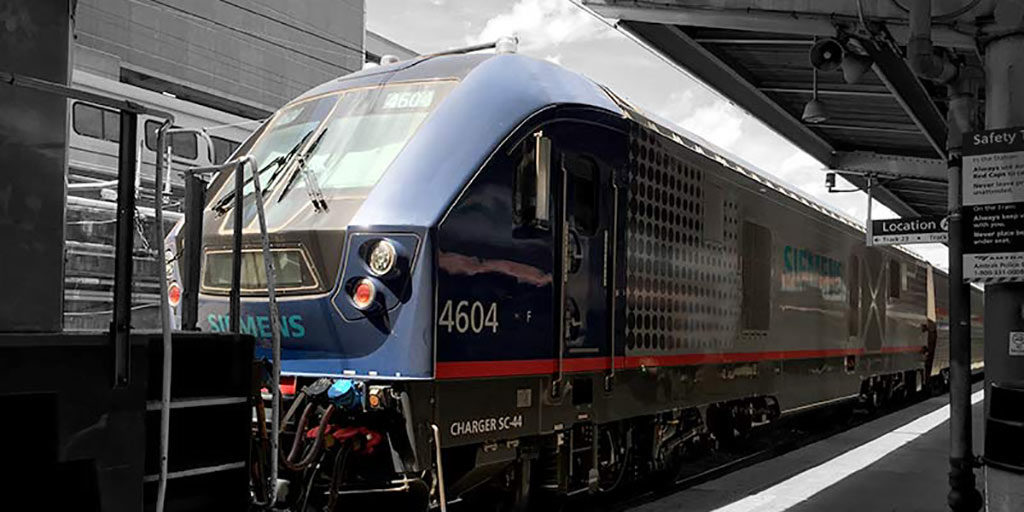 SIEMENS USA | Charger | SC-44 | Lokomotive | 2015