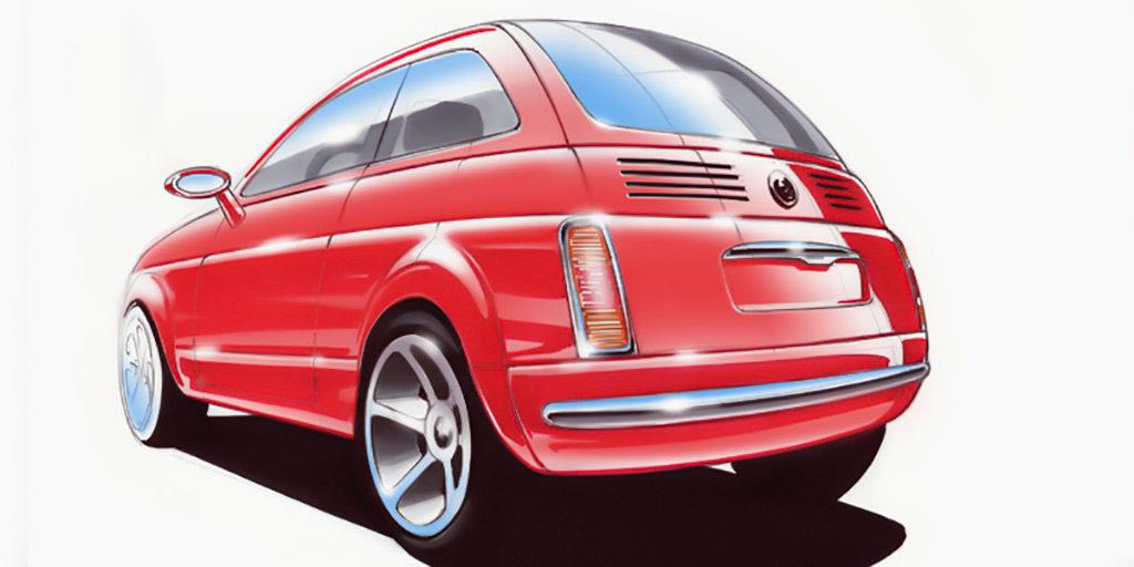 FIAT 500 | Designkonzept| 2002
