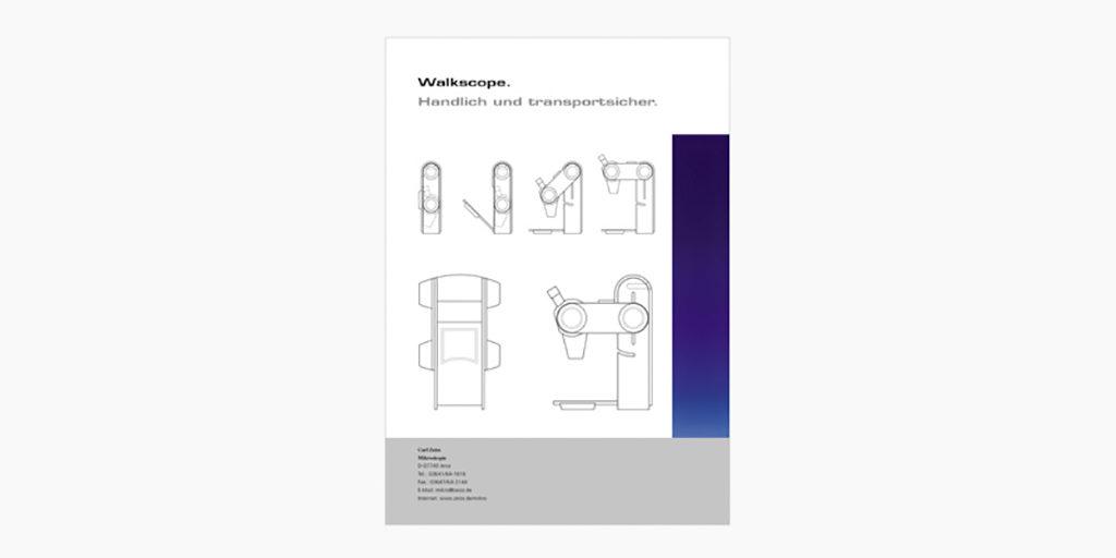 ZEISS | Walkscope | faltbares Stereomikroskop | 1994